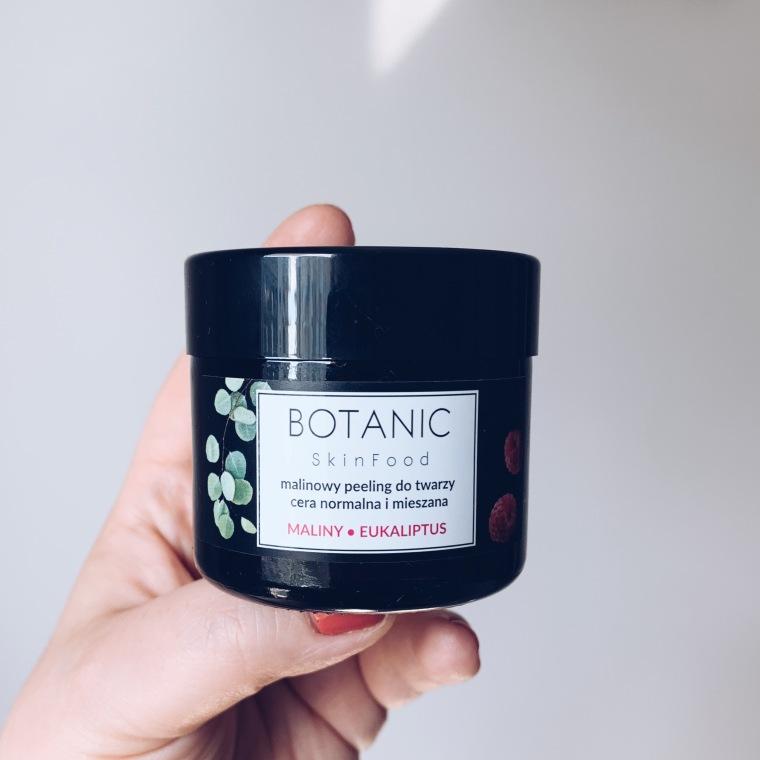 Botanic Skinfood Malinowy peeling do twarzy