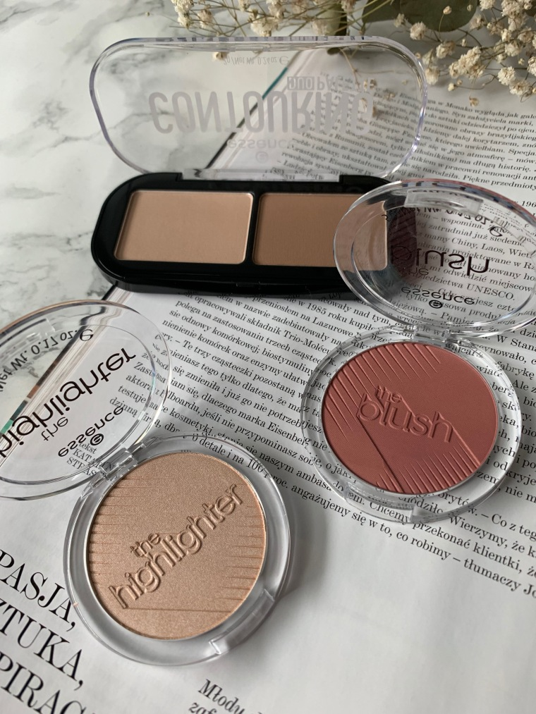 ESSENCE THE BLUSH, THE HIGHLIGHTER