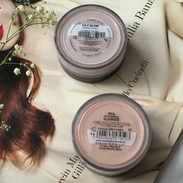 Annabelle Minerals Róż mineralnyLily Glow i Sunrise
