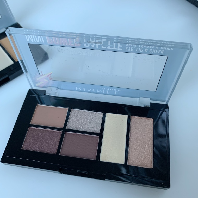Rimmel MINI POWER PALETTE 01 Fearless