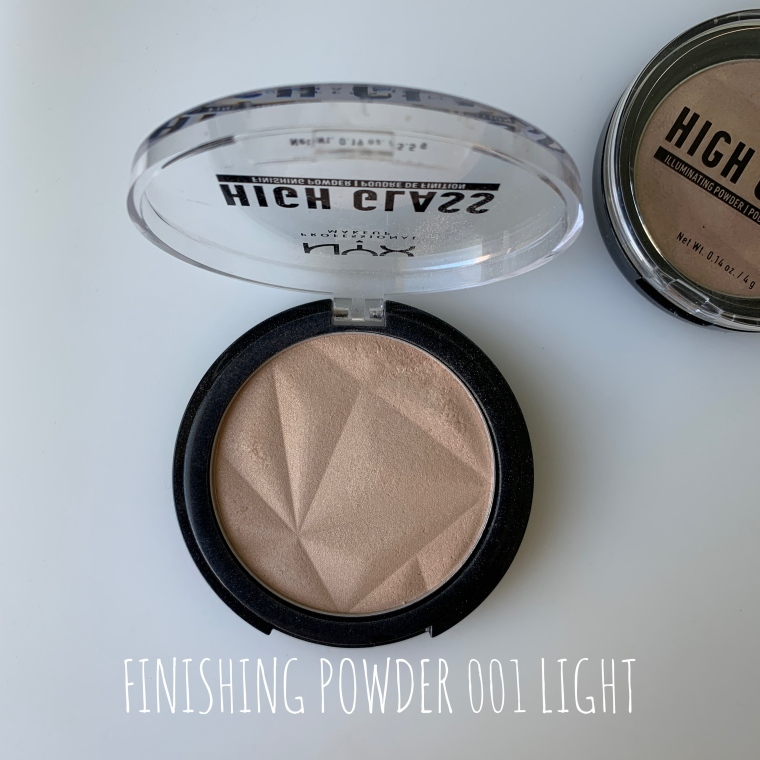 NYX PUDER FINISHING POWDER 001 LIGHT
