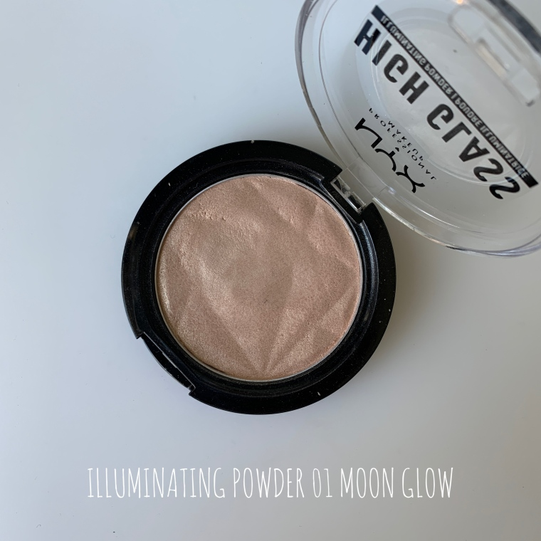 NYX ROZŚWIETLACZ ILLUMINATING POWDER 01 MOON GLOW